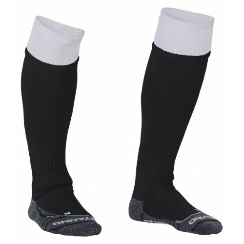 Reece Combi Socks Black/White Unisex Senior